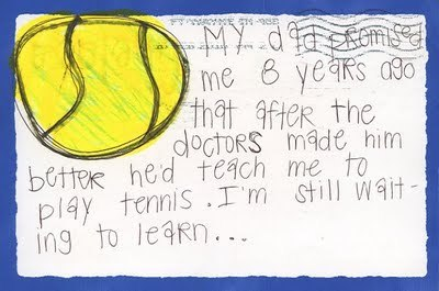 PostSecret - Early Father's dia Secrets