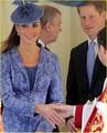 Prince William & Kate: Sunday Church with Prince Harry!