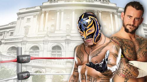 Rey Mysterio vs CM Punk-WWE Capitol Punishment