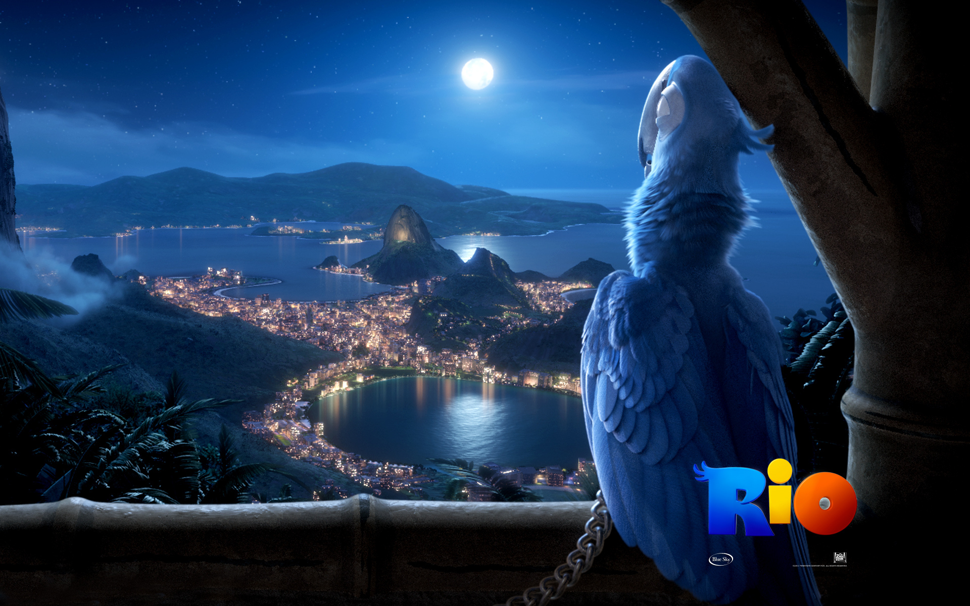 BLU (from The Computer-animated Film, Rio) Images Rio