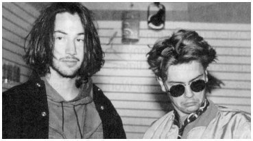 River Phoenix & Keanu Reeves wallpaper possibly containing a portrait called River & Keanu interview