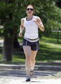 Scarlett Johansson seen out Jogging in New Mexico, June 11
