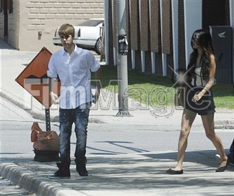 Selena Gomez and Justin Bieber in Canada