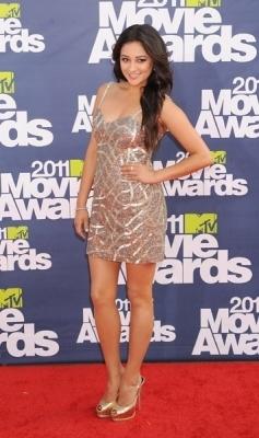Shay Mitchell - 2011 MTV Movie Awards