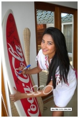 Shay Mitchell - Coca-Cola Malibu House