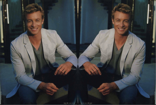 Simon Baker Mirror Portraits 01