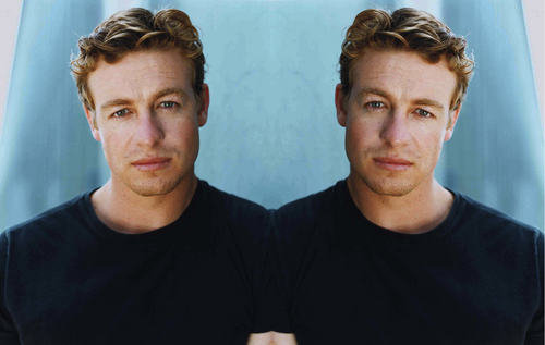 Simon Baker Mirror Portraits 02