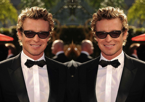 Simon Baker Mirror Portraits 03