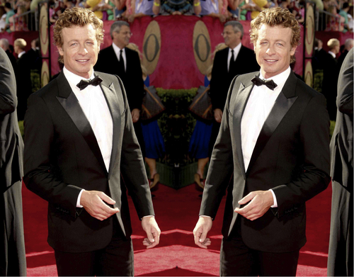 Simon Baker Mirror Portraits 04