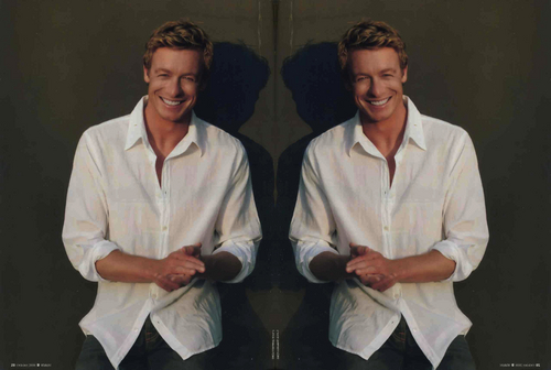 Simon Baker Mirror Portraits 05