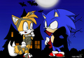 Sonic Halloween - sonics-world fan art