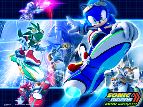 Sonic's World hình nền called Sonic Riders