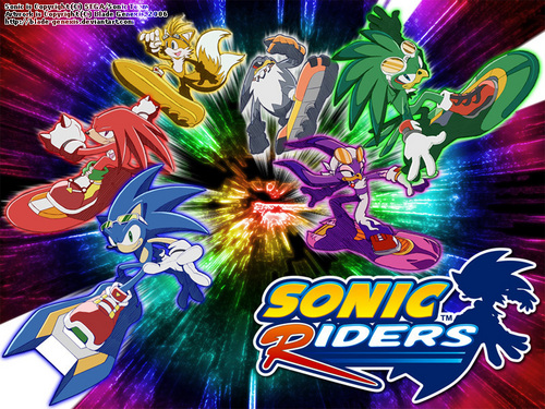Sonic's World fondo de pantalla called Sonic Riders