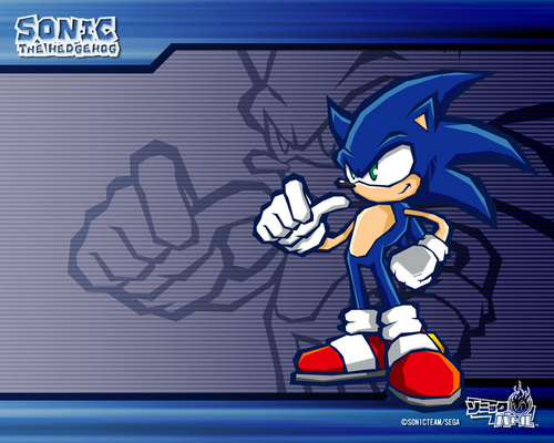 Sonic's World Обои possibly containing Аниме titled Sonic Team.