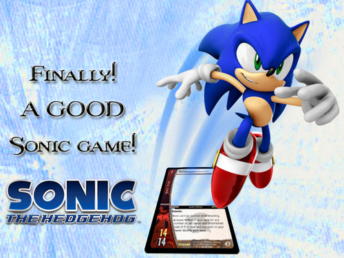 Sonic's World wallpaper entitled Sonic Team.