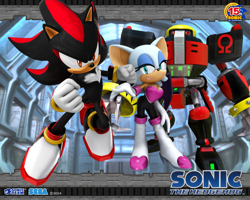 Sonic's World achtergrond entitled Sonic Team.