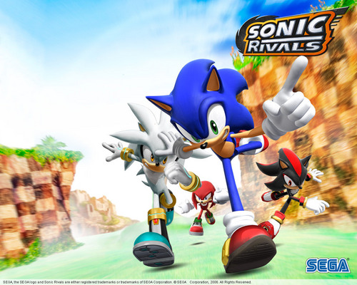 Sonic's World wallpaper entitled Sonic The Hedgehog.