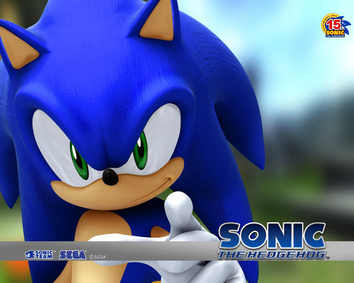 Sonic's World Обои containing a triceratops entitled Sonic The Hedgehog.