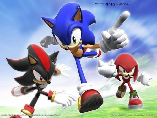 Sonic's World achtergrond entitled Sonic The Hedgehog.