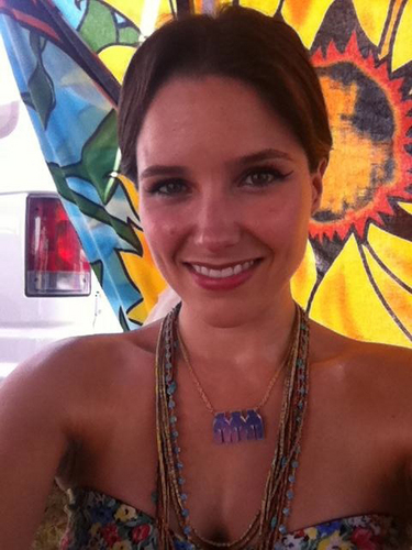 Sophia Bush at Bonnaroo