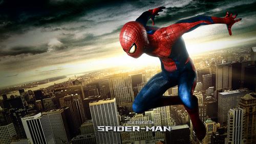 Spider man 2012 poster