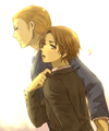 Strictly buisness - hetalia-gerita fan art