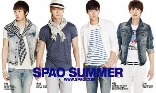 Super Junior SPAO Summer 2011