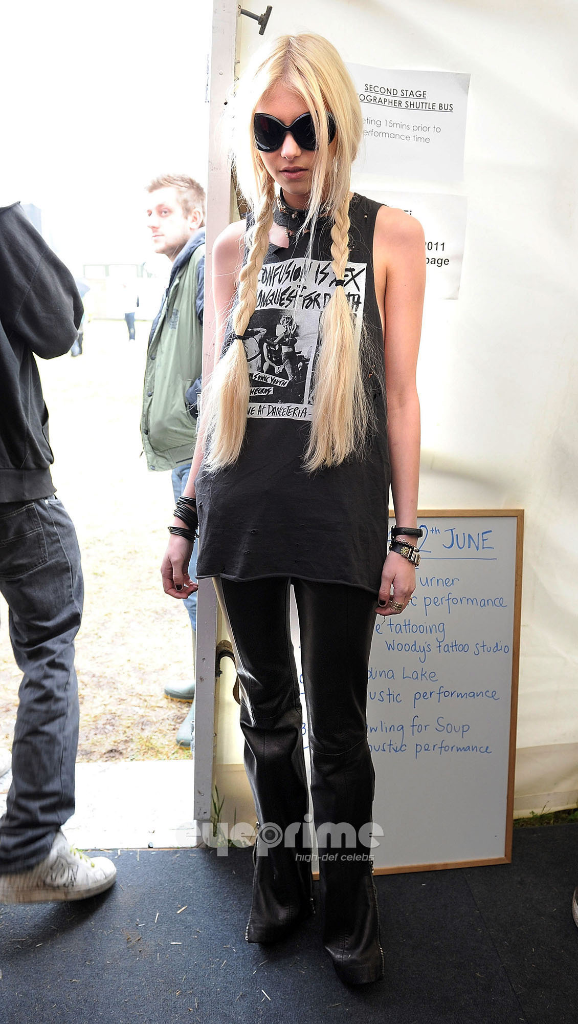 Taylor Momses poses for Photos during 2011 Download Festival, June 12