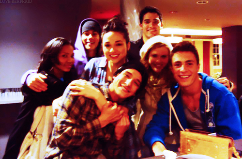 Teen wolf Cast BTS