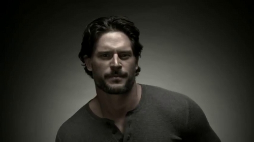 "Joe Manganiello wallpaper possibly containing a portrait titled True Blood: Season 4 - ""Screen Test"" Character Trailer"