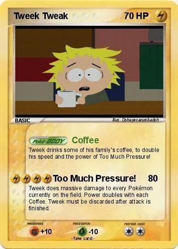 Tweek Покемон Card