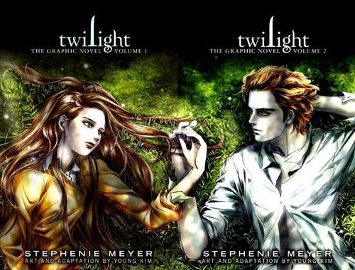 Twilight Graphic novel volume 1 & 2
