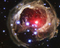 V838 Monocerotis - space wallpaper