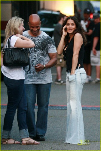 Visiting the set of 'I Hate te Dad' in Boston, MA [June 8, 2011]