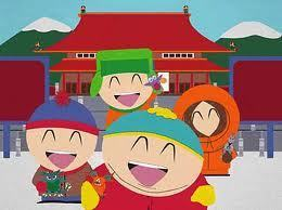 What South Park looks like in Jepun