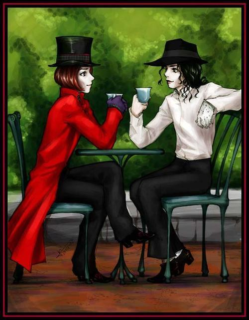 Willy Wonka and Michael Jackson
