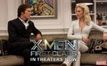 X-Men Frost & Shaw - x-men-first-class wallpaper