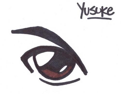 YuYu Hakusho eyes