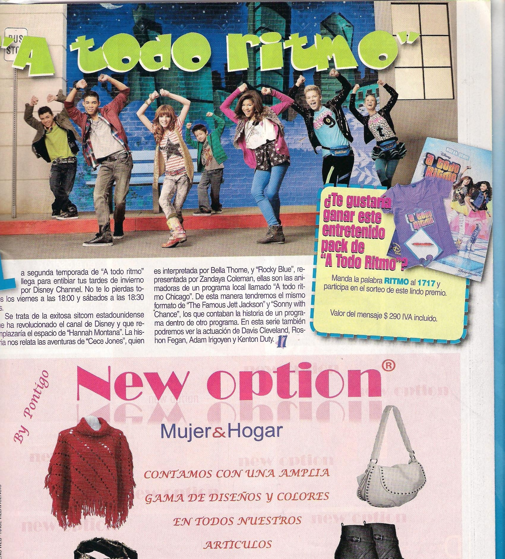 ... and Bella in Latin America Magazine - zendaya-and-bella-thorne photo