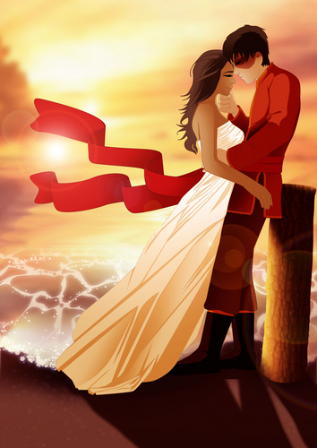 Zuko and Katara wallpaper probably containing hosiery, a coquetel dress, and a hip boot titled Zuko and Katara :)