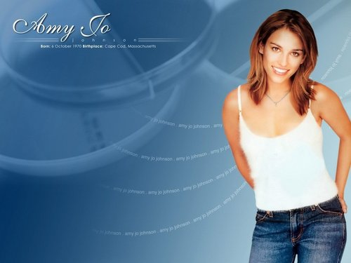 Amy Jo Johnson wallpaper with a portrait titled amy jo johson