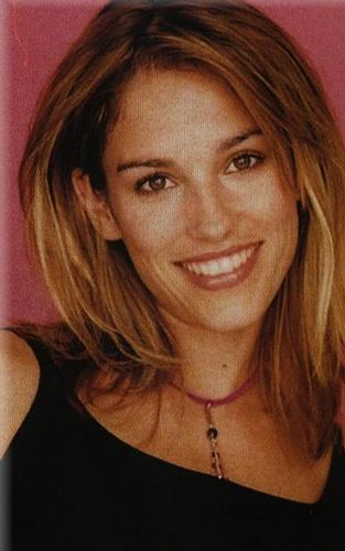 Amy Jo Johnson wallpaper with a portrait called amy jo johson