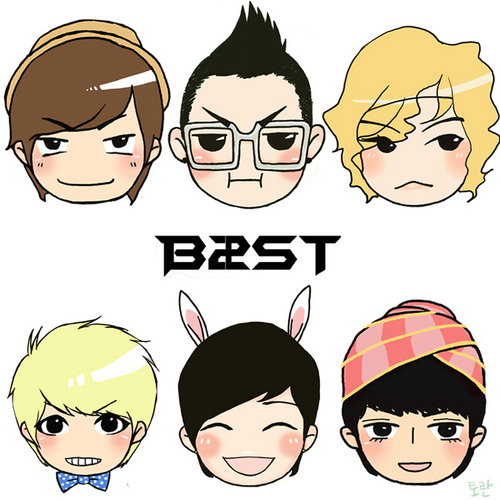 BEAST/B2ST achtergrond probably containing anime entitled beast