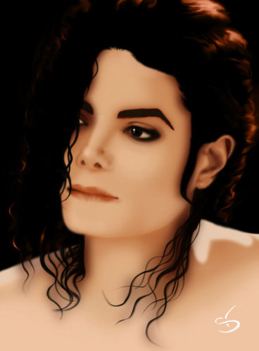 Michael Jackson پیپر وال probably containing a portrait called beautiful michael jackson