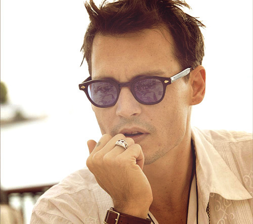 i am lost without your existence <3 - johnny-depp photo