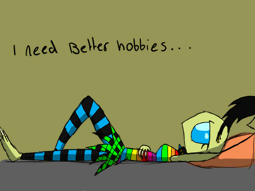Invader Zim FanCharacters wolpeyper called i need a good hobby