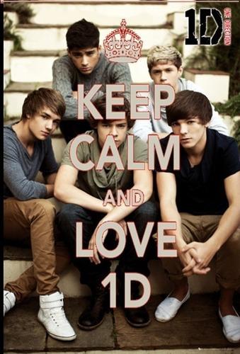 keep calm and Любовь 1D x