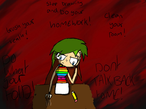 Invader Zim FanCharacters wallpaper called leave me alone