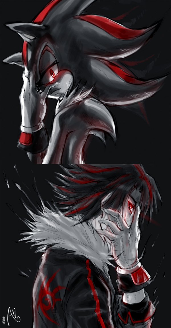 Shadow and sonic images shadow and his human form HD ...