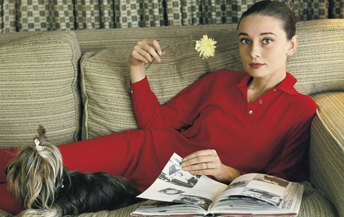 Audrey at home,1958,